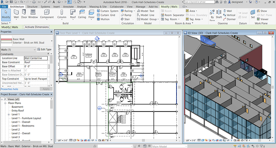 Revit Interior Design Training Classes