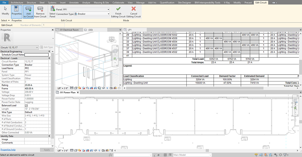 Revit Electrical Training Classes