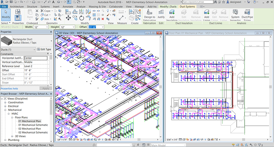 Revit MEP Training Classes