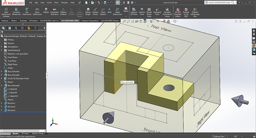 Solidworks Engineering Design Classes